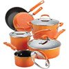 Rachael Ray 10-Piece Porcelain Enamel Non-Stick Cookware Set