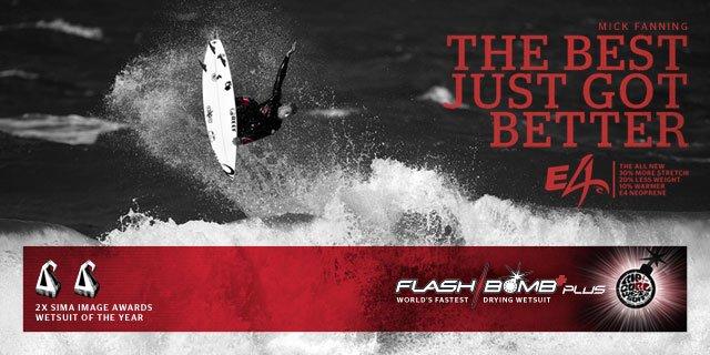 Mick Fanning - The Best Just Got Better - Flash Bomb Plus