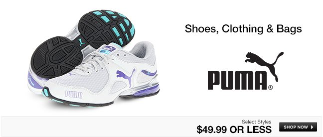 PUMA Shoes, Clothing and Bags