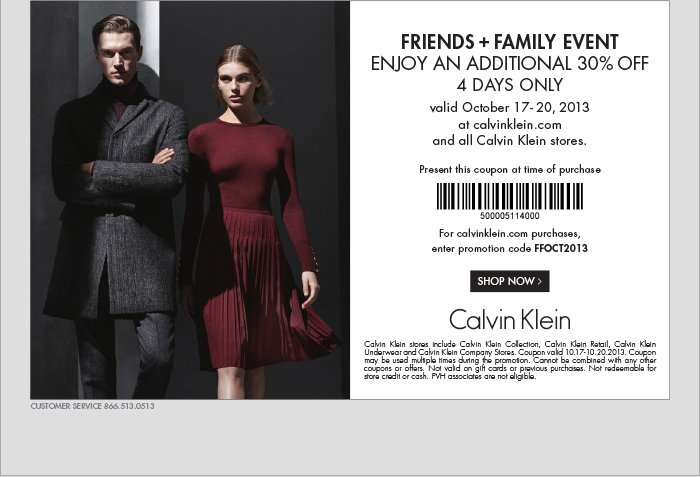 FRIENDS + FAMILY EVENT ENJOY AN ADDITIONAL 30% OFF 4 DAYS ONLY