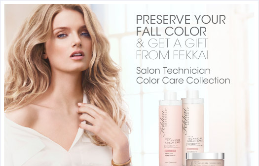Preserve Your Fall Color & Get A Gift From Fekkai  Salon Technician Color Care Collection