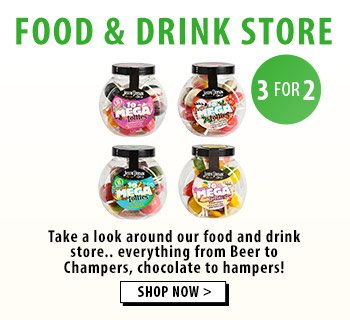 3 for 2 on food and drink