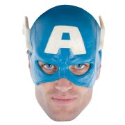 Captain America Adult Vinyl 1/4 Mask