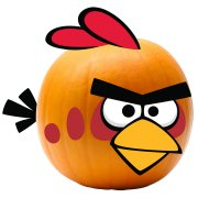 Angry Bird - Push-in Red Bird