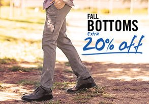 Shop Extra 20% OFF Fall's Best Pants