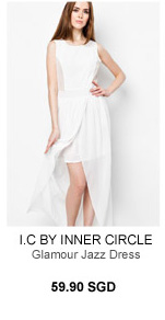 I.C BY INNER CIRCLE Glamour Jazz Dress
