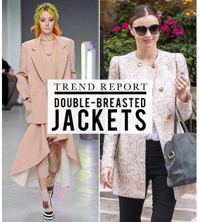 Fall Wardobe Checklist: The Double Breasted Jacket