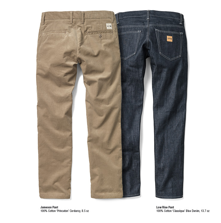 Jameson Pant - Low Rise Pant
