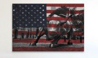 We Salute You: Flag Art On Canvas | Shop Now