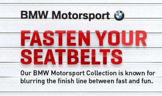 BMW Motosport FASTEN YOUR SEATBELTS