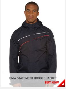 BMW STATEMENT HOODED JACKET BUY NOW »