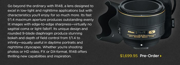Adorama -  Go beyond the ordinary with R148