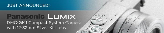 Adorama - Just Announced Panasonic Lumix DMC-GM1