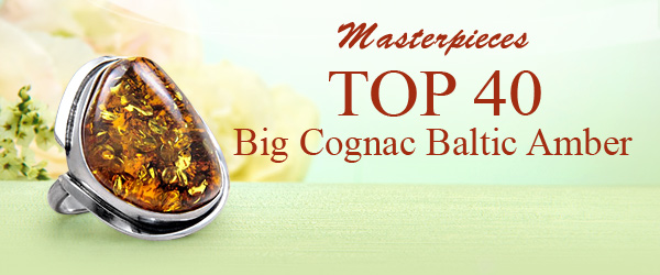 Masterpieces TOP 40 Big Cognac Baltic Amber