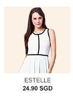 ESTELLE Coco Fit & Flare Dress