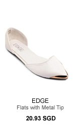 EDGE GWEN d'Orsay Flats with Metal Tip