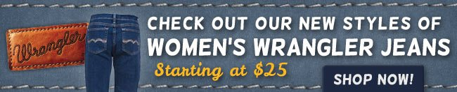 Save on Women's Wrangler This Week!