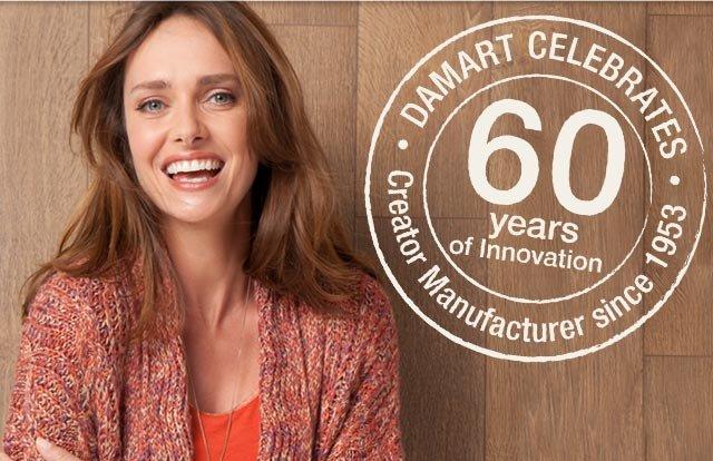 Damart Celebrates 60 years of Innovation