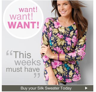 Buy your Want Want Want Silk Sweater Today