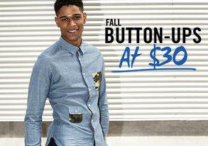 Shop Fall Button-Ups $30 & Under