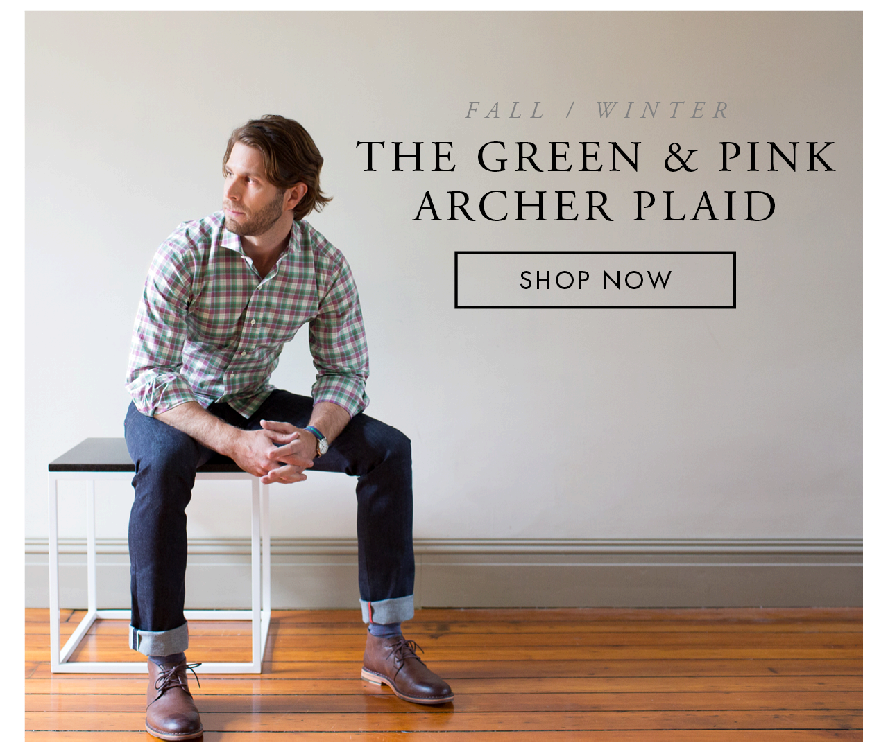 The Green and Pink Archer Plaid