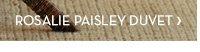 Rosalie Paisley Duvet