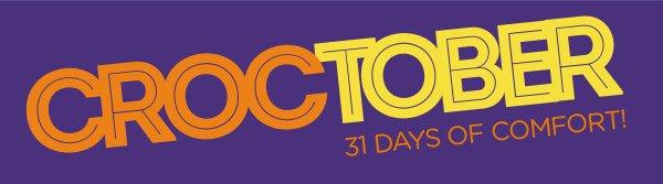 Croctober - 31 Days Of Comfort!