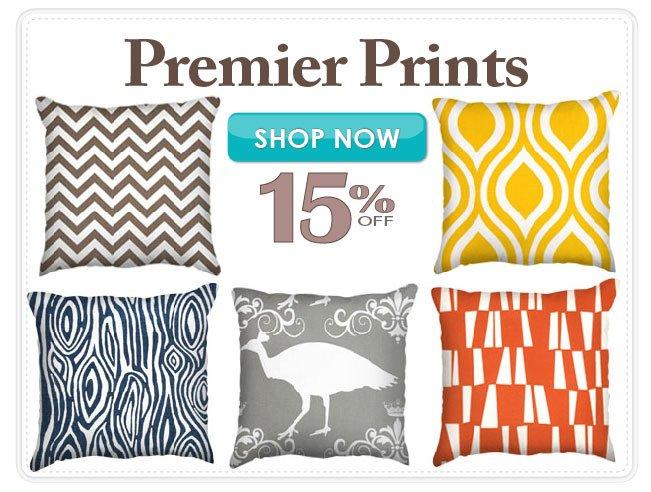 15% off Premier Prints