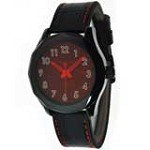 Android AD488AR Men's Euxine Black Ion Plated Brown Dial Quartz Watch