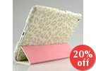 Leopard-Print Flip iPad Mini Case