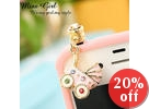 Jeweled Earphone Plug