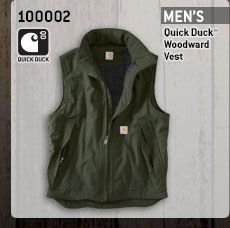 Men's Quick Duck Woodward Vest