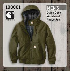 Men's Quick Duck Woodward Active Jac