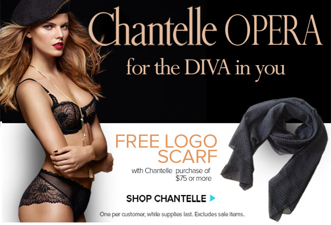 Chantelle Opera - For the Diva in You.
