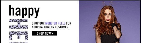 Happy HEELoween! Shop our MONSTER HEELS!