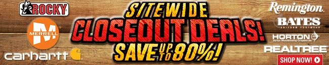 Sportsman's Guide's Site-Wide Closeout Deals! Save Up To 80%!