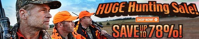 Sportsman's Guide's Huge Hunting Sale, Save Up To 78%!