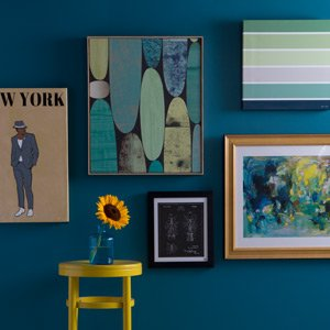The Instant At-Home Gallery: Art by Color