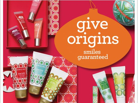 give origins smiles guaranteed