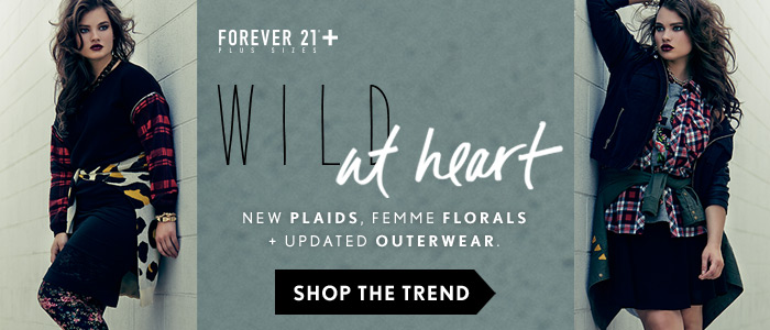 Forever 21 Plus: Wild at Heart