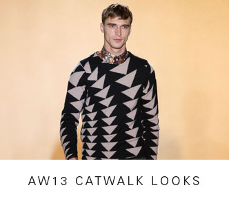 AW13 CATWALK LOOKS