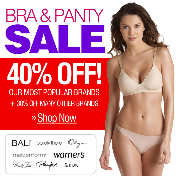 Bra & Panty Sale - Save Big -- Shop Now