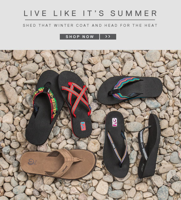 LIVE LIKE IT'S SUMMER - SHOP NOW