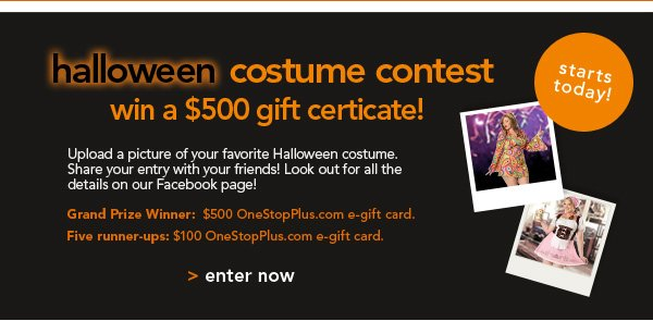Enter Our Halloween Contest