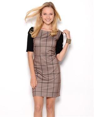 Just Taylor Geometric Dress