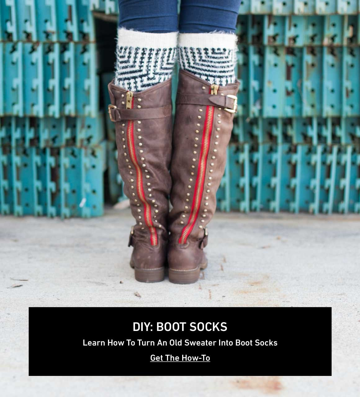 DIY: Boot Socks