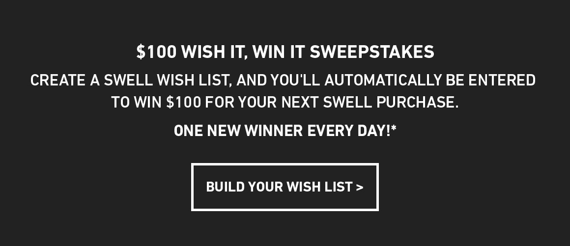 Build Your Wishlist, Win $100