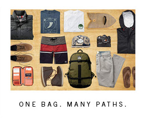 One Bag. Many Paths.