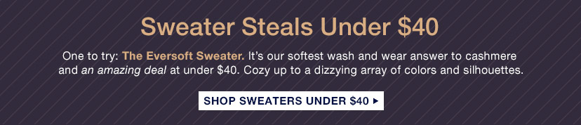 Sweater Steals Under $40 | SHOP SWEATERS UNDER $40