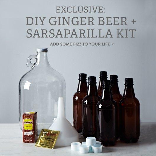 DIY Ginger Beer + Sarsaparilla